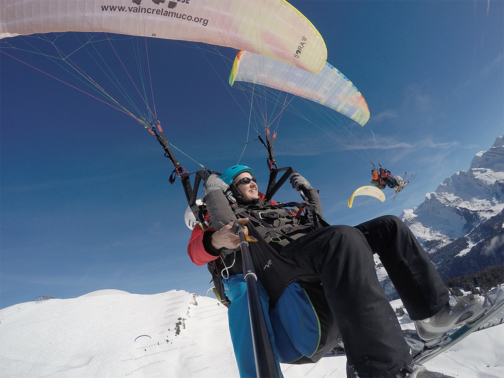 airlinks ecole parapente grand bornand biplace